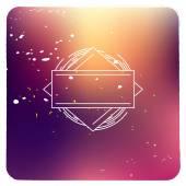 Bright blurred cover design — Stock Vector
