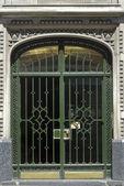 Art deco door in Buenos Aires — Stock Photo