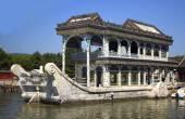Mramorová loď v letním paláci — Stock fotografie