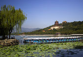 The beautiful view of the Summer Palace — Stock Photo