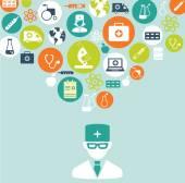 Concept médical — Vecteur