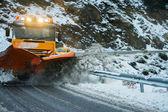 Sneeuw plough — Stockfoto