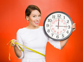 On time great fitness result. — Stock Photo