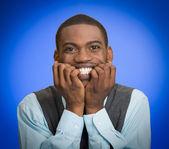 Stressed worried, Anxious Businessman — Foto Stock