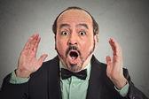Surprise astonished man. — Stock Photo