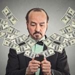 Technology, online banking, money transfer, e-commerce concept — Stock Photo #57595039