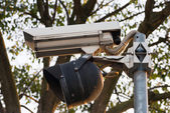 Security cam — Stock Photo