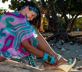 Dominican Girl portrait — ストック写真