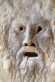 La Bocca della Verità (English: the Mouth of Truth) — Stock Photo