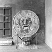 La Bocca della Verità (English: the Mouth of Truth) — Stock Photo