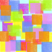 Brightly colored squares  — Stock Photo