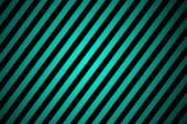 Black and turquoise stripped background — Foto de Stock