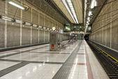 Tunnelbanestationen. — Stockfoto