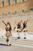 Changing of the Guard ceremony, Athens — Stockfoto
