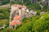 Monastery in Meteora — Stock Photo