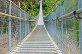 Hängenden fuß zu überbrücken — Stockfoto