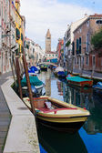 Canals, Venice — Stock Photo