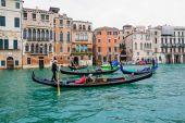 Gondoly, Benátky — Stock fotografie
