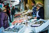 Fish market, Venice — Stock Photo
