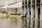 Piazza san marco, venetië — Stockfoto