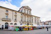 Piazza del Castello, Vicenza — Foto de Stock