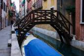 威尼斯的运河 — 图库照片