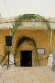 Orthodox Palm Sunday in Nazareth — Стоковое фото