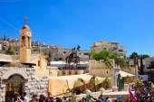 Domenica delle palme ortodossa a Nazareth — Foto Stock