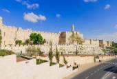 Jerusalem city walls — ストック写真
