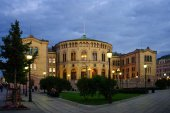 The Storting building, Oslo — Stock Photo