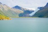 北极圏冰川 — 图库照片