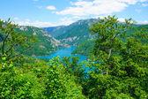 Piva River and Lake — Stock Photo