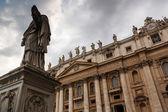 St. peter's basiliek, rome, italië — Stockfoto