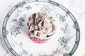 Chocolate cupcake — Стоковое фото