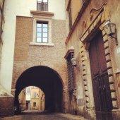 Architecture in street of Rome — Foto de Stock