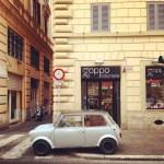 ������, ������: Mini Cooper on street