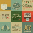 Vintage styled Christmas Cards — Stock Vector #52857673