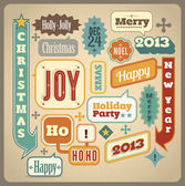Most common used Christmas acronyms and abbreviations — Stock Vector