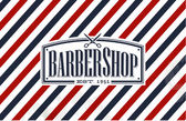 Old Fashion styled Barber Shop — Stock Vector