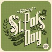 Happy St Patrick's Day — Stock Vector