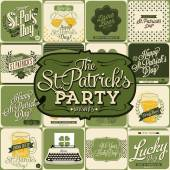 Saint Patricks Day Design — Stock Vector