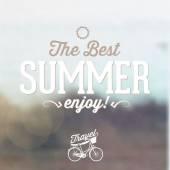 Welcome summer — ストックベクタ