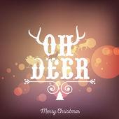 Merry christmas — Stockvektor