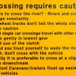 Advises before crossing river — Stock Photo #53312339