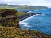 Natural rock formation - Dyrholey Iceland — Stock Photo