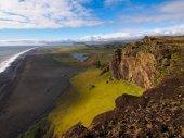 Coastline of Iceland during sunset — Stock Photo