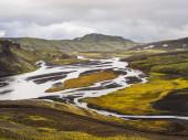Landmannalaugar Fjallabak Nature Reserve — Stock Photo
