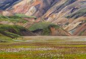 Landmannalaugar Fjallabak Nature Reserve — Stock Photo