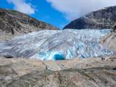 Nigardsbreen glacier — Foto Stock