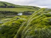 Auto 4wd a landmannalaugar — Foto Stock